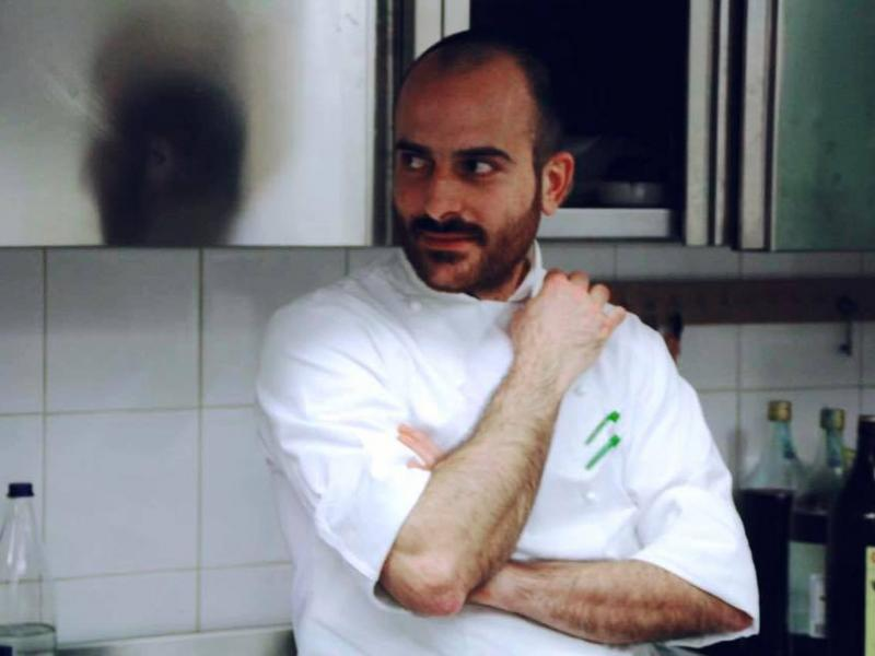 Chef in cucina